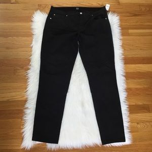 Gap Black Corduroy True Skinny Pants